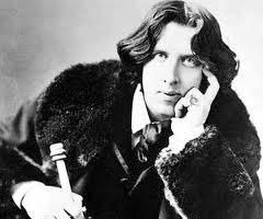 And I will pretend he looks like Oscar Wilde.