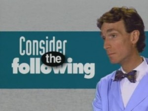 It'll be like an episode of Bill Nye the Science Guy, except if Bill Nye cursed and talked about erotic fiction.