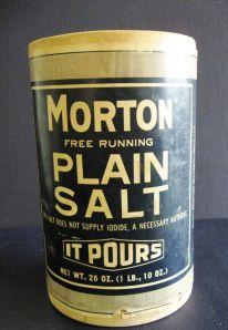 Salt meet wound.