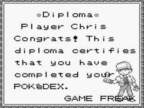 If Bared To You took place in Japan, Christopher would have gotten a Mew instead of a stupid diploma.