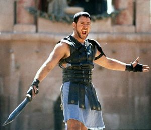 I was going to Google a picture of an actual gladiatrix outfit to put here, but literally every result was porn.
