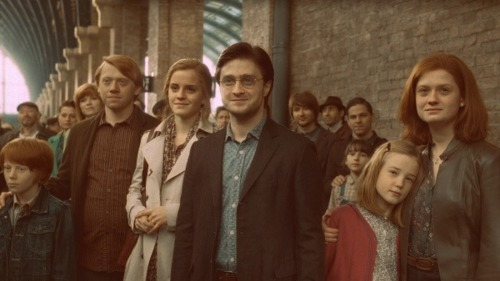 No, seriously, I still can't get over how Ron just looks like hell.