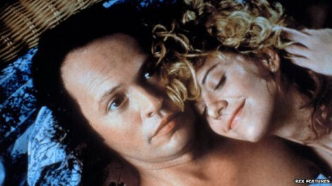 We're at the part of When Harry Met Sally that's too stupid to be a part of When Harry Met Sally.