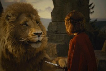 """But we saw the knife! The witch!"" Lucy asked. ""If the witch knew the true meaning of sacrifice, she might have interpreted the deep magic differently,"" Aslan said allegorically."