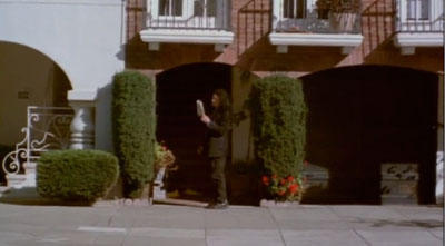 Hey. Without this awkward transitional scene in the middle of a scene, we would have had NO IDEA where Johnny's newspaper came from!