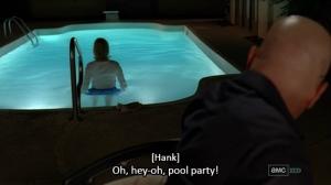 """""""Skyler pool party scene"""""""