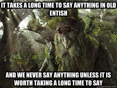 old entish