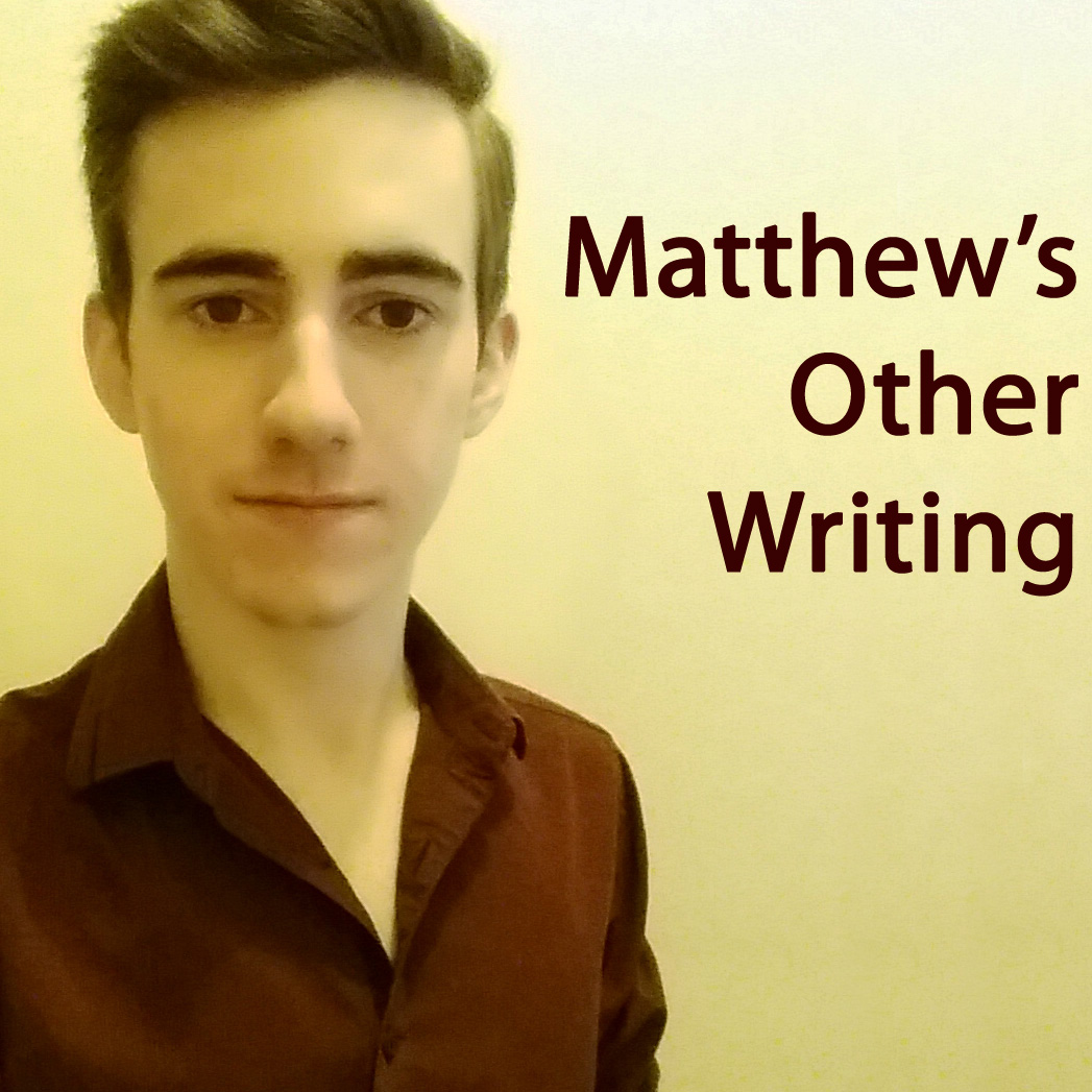 Matthew's Other Writing
