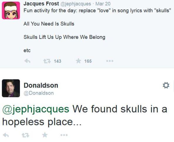 twitter skulls