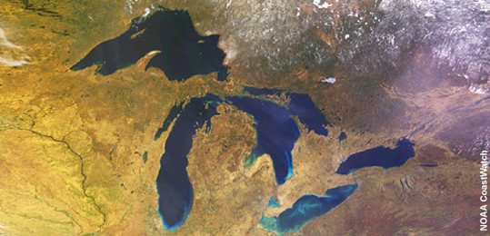 The great lakes have 1/5 of the world's fresh water. One. Fifth. THANKS, FUTURE DIVERGENT GOVERNMENT.